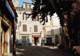 COTIGNAC - Cours Gambetta - Coiffeur, Maison De La Presse, Boulangerie - Tirage D'éditeur - Cotignac