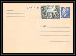 4472 Raignier 15f Bleu B1 139mm Cote 250 1958 Carte Postale Monaco Entier Postal Stationery - Interi Postali