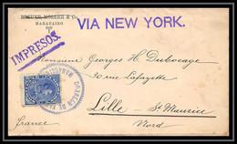 4521 1903 Via New York Enveloppe Cover Lettre Venezuela - Venezuela