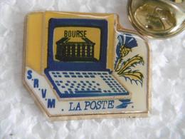 Pin's - La POSTE Minitel BOURSE - Post