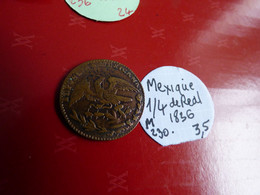 MEXIQUE 1836 - Coins