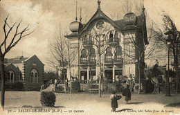 64 - Salies De Béarn - Le Casino En 1900 - Salies De Bearn