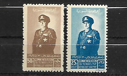 Syrie Poste  1949   Cat Yt N° 34 ( Poste ) Et 35 ( Poste Aérienne )     N** MNH - Siria