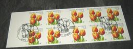 Boekje / Carnet 34°  Oranje Tulpen 2907(o) - Eerstedagstempels - Obliteré 1e Jour - Belgio