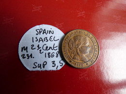 SPAIN ISABEL SUP - Coins