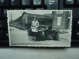 Ancienne Photo, Camion Et Landau. - Unclassified