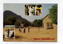 CP Utilisée. Mission Catholique De Lam Au Cameroun. Dieu Est Amour, An 2000. Missionnaires Oblats De Marie Immaculée - Kamerun
