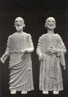 Farneta, Cortona - Santino Antico Cartolina S. PIETRO E PAOLO APOSTOLI Sec. XIV-XV Abbazia (Non Viaggiata) PERFETTO P81- - Religion & Esotérisme
