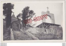 Fixe Var Cotignac Carte Photo Fête Du Couronnement 1938 édification Monument éphémère * Très Très Rare Ensemble 2 Cartes - Cotignac