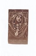 SANTINO B. V. DELLA MISERICORDIA DETTA DI GHIANDOLINO NEI CAMINI DI PEDIANO IMOLA CM 5,8x10,2 FUSTELLATO BUONE CONDIZION - Godsdienst & Esoterisme