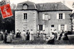 LE CHESNOIS PAR SAINT DIZIER  LA PARTIE DE CROQUET - Autres Communes