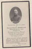 20A1301  Image Pieuse Mortuaire C JUMELAIS Medecin Ambul 14/12 25/5/1918 BEAUVAIS - Andachtsbilder