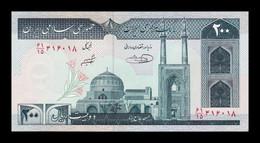 Iran 200 Rials 1982 Pick 136e Sign 31 SC UNC - Iran