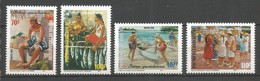 Timbre De Polynésie Française En Neuf ** N 574/577 - Nuovi
