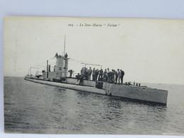CPA - Le Sous Marin Fulton - Equipment