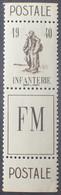 R1118/1 - 1940 - INFANTERIE - F.M. (FRANCHISE MILITAIRE) - N°10A NEUF** - Militärpostmarken