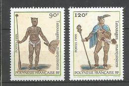 Timbre De Polynésie Française En Neuf ** N 584/585 - Polinesia Francese