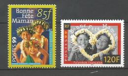 Timbre De Polynésie Française En Neuf ** N 586/587 - Polinesia Francese