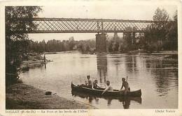 - Puy De Dôme -ref-A915- Dallet - Le Pont Et Les Bords De L Allier - Ponts - Promenade En Barque - - Other Municipalities