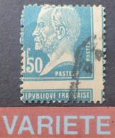 R1118/3 - 1923/1926 - TYPE PASTEUR - N°181 ☉ - VARIETE ➤➤➤ Piquage à Cheval - Errors & Oddities
