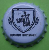 1 Capsule De Bière   SAINTE  CRU  Brasserie Indépendante - Beer