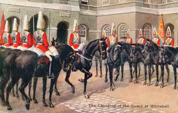 DC3874 - The Changing Of The Guard At Whitehall, Soldaten Auf Pferden - Otros