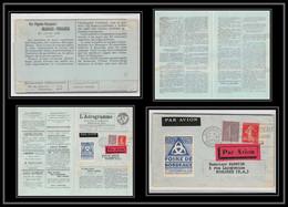 41913 Journal L'aerogramme N°8 Exposition Coloniale 1931 Bordeaux France Aviation PA Poste Aérienne Airmail Lettre Cover - 1927-1959 Lettres & Documents