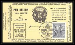 41940 Ballon Non Monté Ballonpost 1970 France Autriche (Austria) Airmail Lettre Cover - Airmail