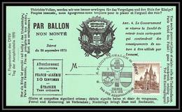 41942 Ballon Non Monté Ballonpost 1970 France Autriche (Austria) Airmail Lettre Cover - 1927-1959 Lettres & Documents