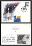 1744 Espace (space Raumfahrt) Lettre (cover Briefe) Kazakhstan / Usa 14/3/1995 Soyouz (soyuz) Tm 21 - Mir 18 Shuttle - Asia