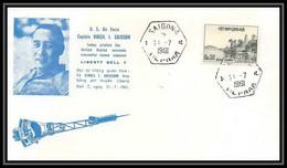 3529/ Espace Space Raumfahrt Lettre Cover Briefe Cosmos 21/7/1961 Grissom Liberty Bell 7 Viet Nam (Vietnam) - Asia