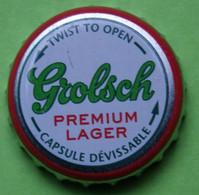 1 Capsule De Bière   GROLSCH  PREMIUM LAGER - Beer