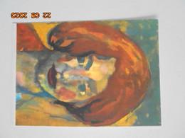 Emil Nolde 1867-1956. Junges Madchen. Hilscher 025 - Peintures & Tableaux