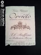 ORVIETO RUFFINO - ETICHETTA - ÉTIQUETTE - White Wines