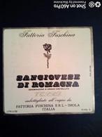 SANGIOVESE DI ROMAGNA FUSCHINA, IMOLA - ETICHETTA - ÉTIQUETTE B - Red Wines
