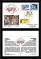 10449/ Espace (space Raumfahrt) Lettre (cover Briefe) 2/10/1991 Austro Mir 91 Udssr Autriche (Austria) - Briefe U. Dokumente