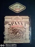 SPANNA DELLA CASCINA 1974 - CANTINE RONCHETTO - ETICHETTA - ÉTIQUETTE - Red Wines