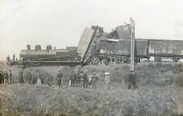 56G....Accident De Train. Photo à Situer- à Localiser- à Identifier - Trains