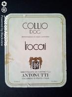 TOCAI COLLIO ANTONUTTI - ETICHETTA - ÉTIQUETTE - White Wines
