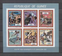 Guinea Olympics Tennis Barcelona JO 1992 COLL. BLUE IMP. MNH - Summer 1992: Barcelona