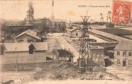 62 Auchel Mine Mines Transport Aerien Charbon - Andere Gemeenten