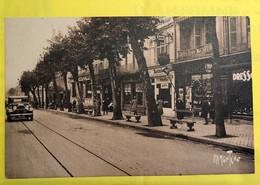 CPA - SAINTES - Cours National - Automobile, Commerces - Saintes