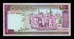 Irán 2000 Rials 1986 - 1995 Pick 141k SC UNC - Iran