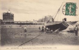 Le Havre  :  Barque De Pêche Et Hotel Frascati      ///   REF.  Sept.  20   ///   N° 12.938 - Andere