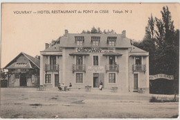VOUVRAY - HÔTEL DU PONT DE CISSE - Chinon