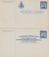 2 Cartes Entier Postal Des PHILIPPINES Tres Bon état - Filippine
