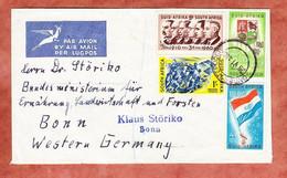 Luftpost, Einschreiben Reco?, Flagge U.a., Onderstepoort Nach Bonn 1960 (97719) - Storia Postale