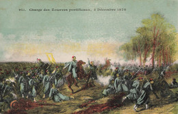 28 Loigny La Bataille Charge Des Zouaves Pontificaux 2 Décembre 1870 - Loigny