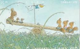 "JAPAN - Cartoon, ""Rain Shower"" By Kazuo Iwamura(251-058), 06/91, Used - Comics"