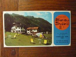 Chalet Hôtel Beau Soleil - Le Lavancher - Chamonix Mont Blanc - Tourism Brochures